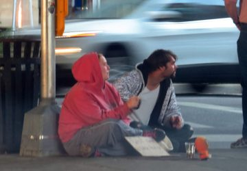 Addressing the homeless and panhandlers