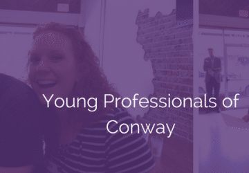 Young Professionals of Conway launch with a party