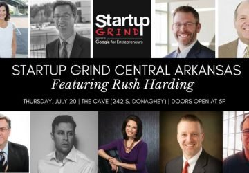 July Startup Grind to feature Rush Harding