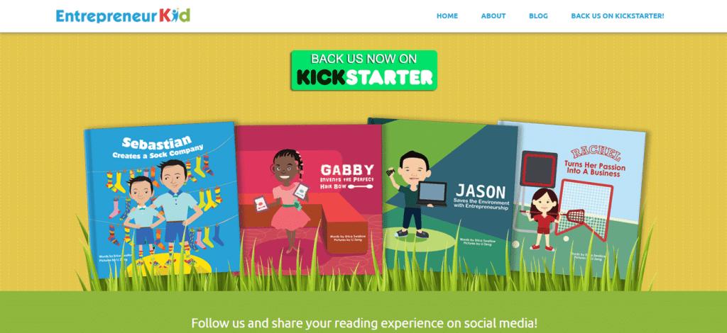 Screenshot: http://www.entrepreneurkid.com