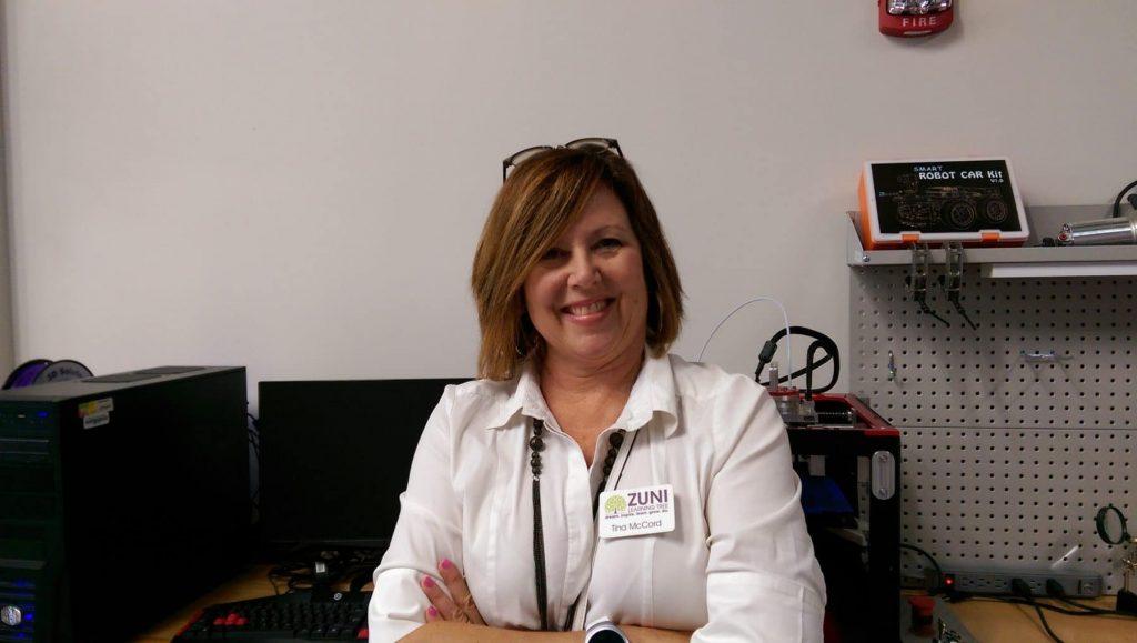 Tina McCord of Zuni Learning Tree