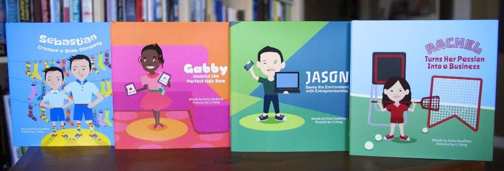 Entrepreneur Kid book set
