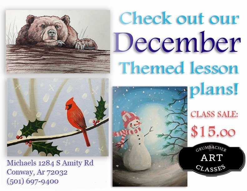 December Themed Flyer Personalized - Jennifer Holland