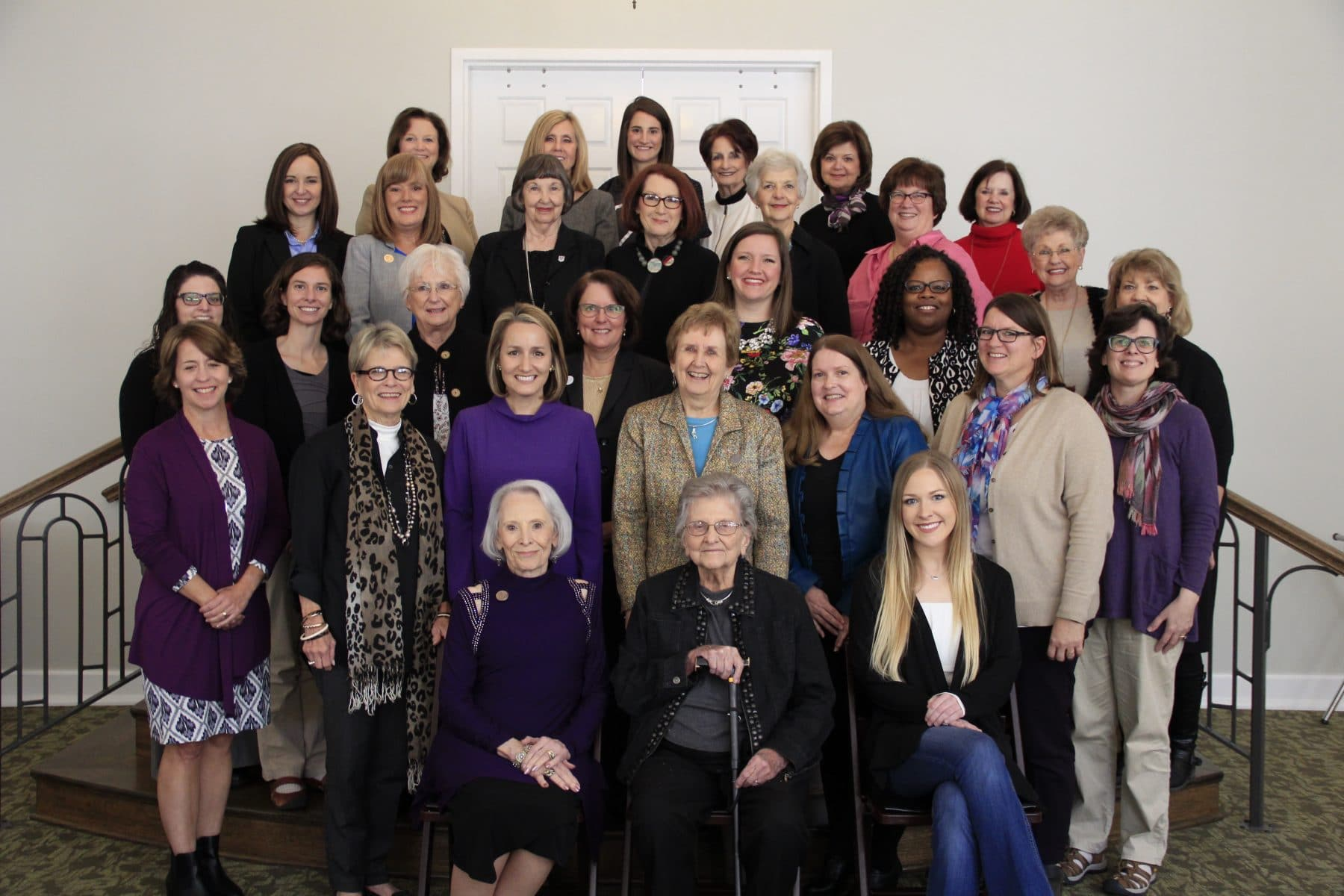 Members of the Women's Giving Circle with 2017-18 grantees.