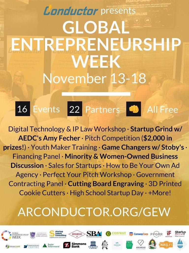 Global Entrepreneurship Week Central Arkansas