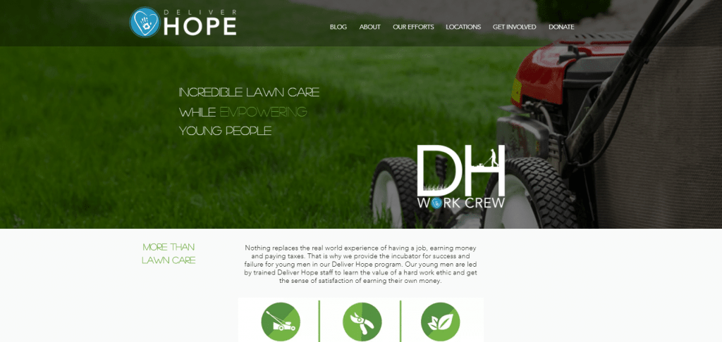 Deliver Hope Work Crew