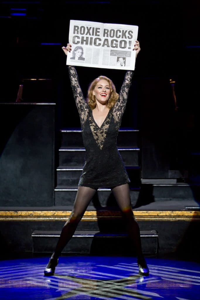 CHICAGO Dylis Croman as Roxie Hart Credit Jeremy Daniel