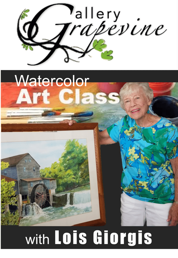 Lois Giorgis Water Color Class - Gallery Grapevine