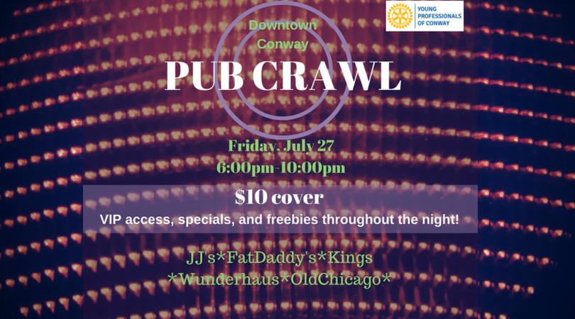 Young Professionals of Conway Pub Crawl