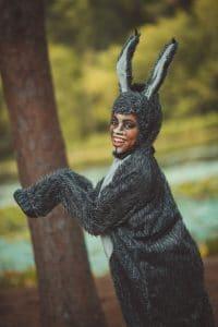 Pictured in RCT Shrek 2: Adeeja Rochele' (Little Rock) as Donkey
