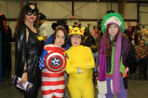 Some young ComiConway fans