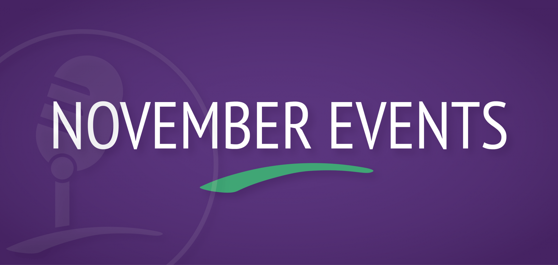 Conway Events November