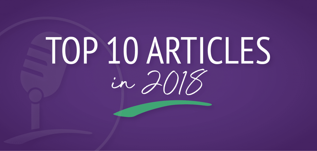 Top 10 Articles 2018