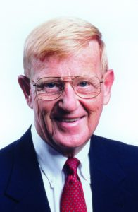 Lou Holtz: courtesy of UCA