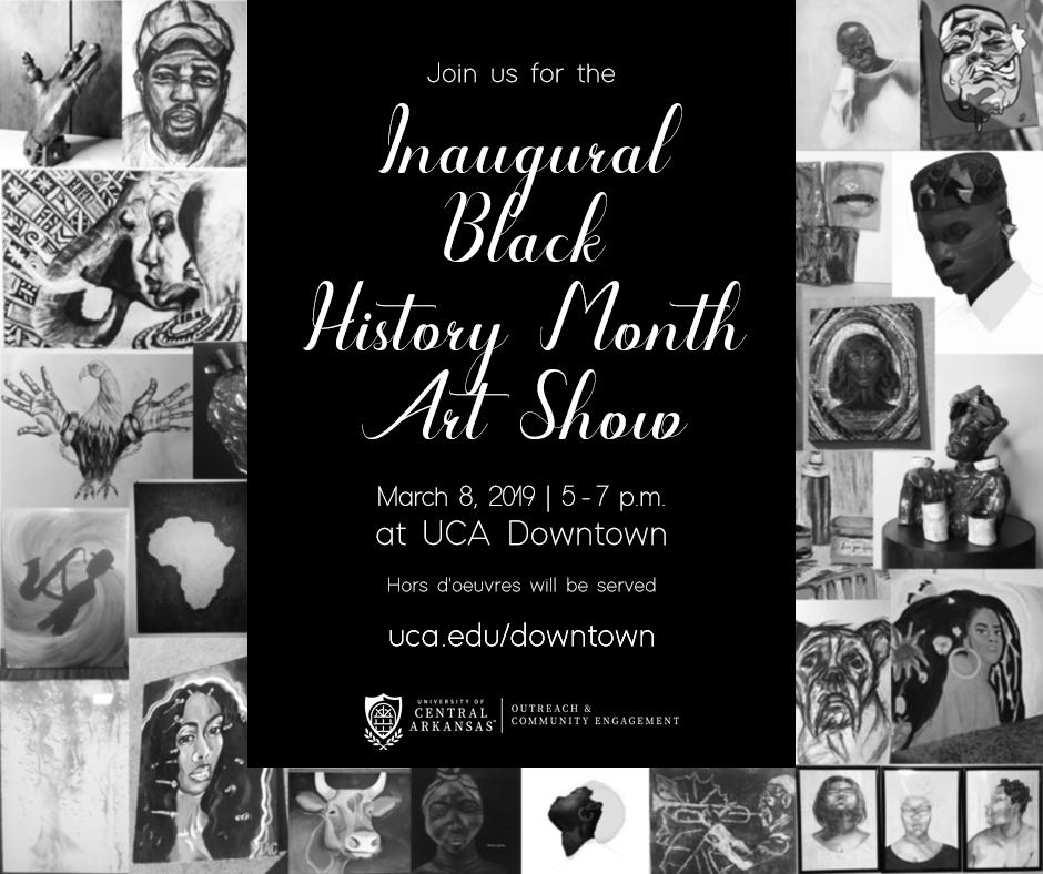 Black Art Show Flyer