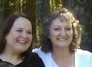 Sarah and her mother Kathy