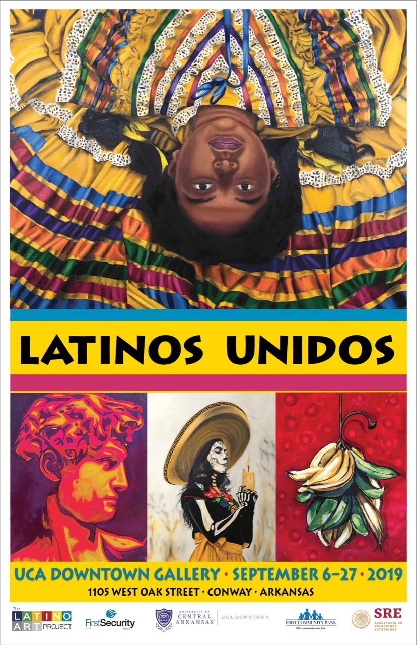 Latinos Unidos Poster