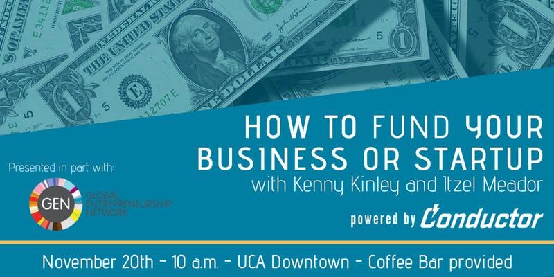Financing your business or startup workshop