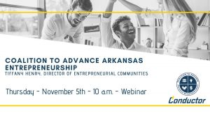 Arkansas Entrepreneurship