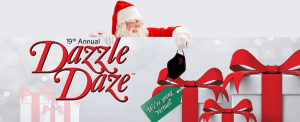 Santa at Dazzle Daze